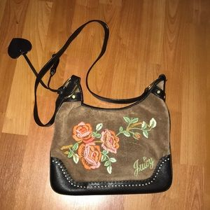 Juicy Couture brown crossbody bag